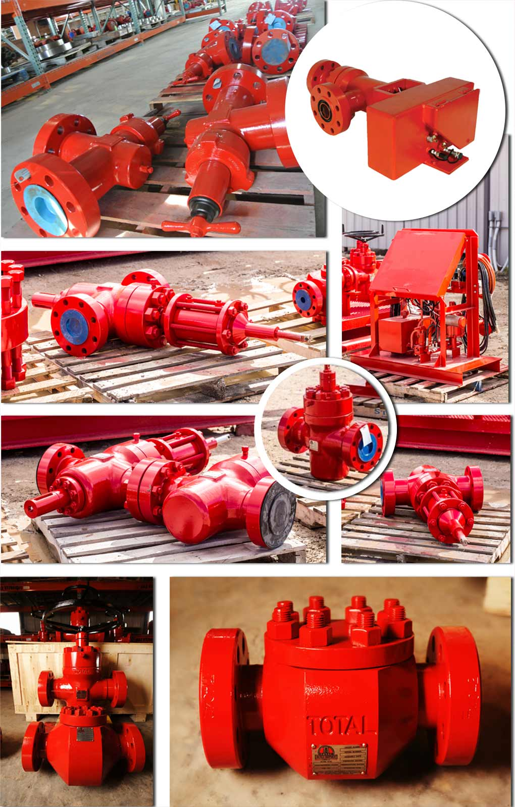 chokes and valves